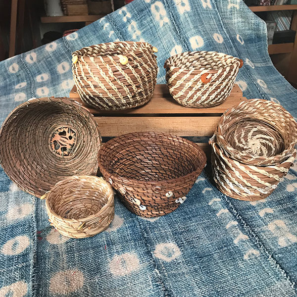 Basketry by Judith Thomas